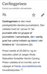 Fornem pris til DR for reportagen om Jyske bank og skattely